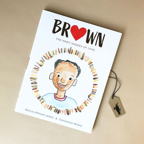 Brown The Many Shades of Love Book - Books (Children's) - pucciManuli