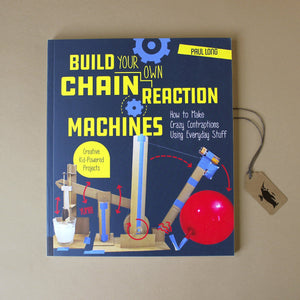 Build Your Own Chain Reaction Machines Activity Book - Books (Children's) - pucciManuli
