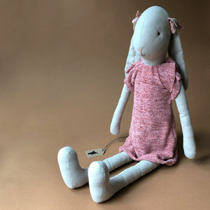 Bunny in Heathered Pink Knit Dress | Size 5 - Dolls & Doll Accessories - pucciManuli