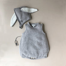 Load image into Gallery viewer, Bunny Set - Light Grey - Baby (Clothing) - pucciManuli