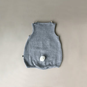 Bunny Set - Light Grey - Baby (Clothing) - pucciManuli