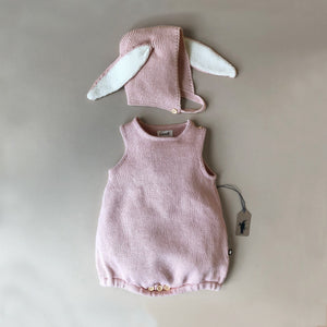 Bunny Set - Light Pink - Baby (Clothing) - pucciManuli