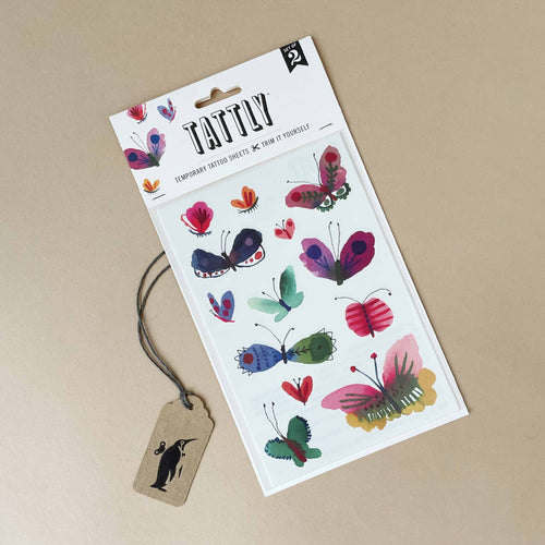 Butterfly Frenzy Temporary Tattoo Sheet - Accessories - pucciManuli