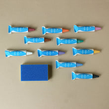 Load image into Gallery viewer, Buttery Soft Bath Crayon Set - Bath & Body - pucciManuli