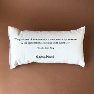 Celebrating Community Pillow | Bryn-Mawr - Pillows - pucciManuli