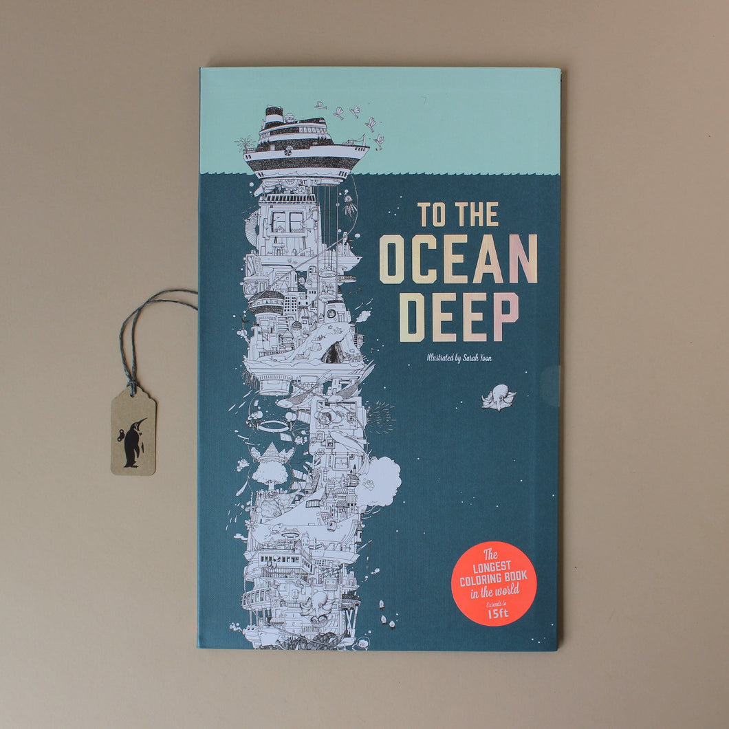 To The Ocean Deep Coloring Book - Arts & Crafts - pucciManuli