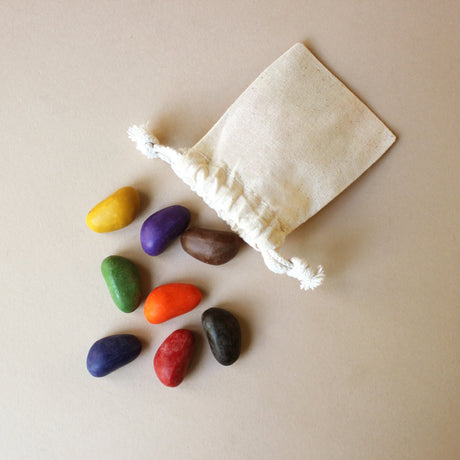 Crayon-Rocks | 08 Colors in Muslin Bag - Arts & Crafts - pucciManuli