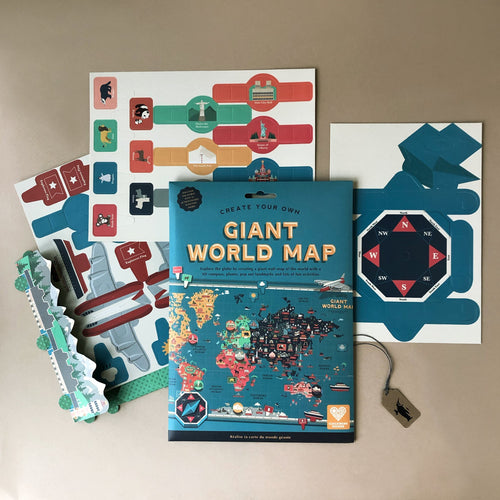 Create Your Own Giant World Map - Arts & Crafts - pucciManuli