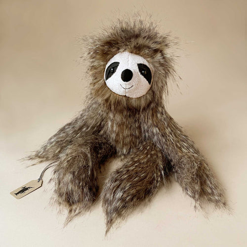 cyril-sloth-stuffed-animal-with-feathery-fur