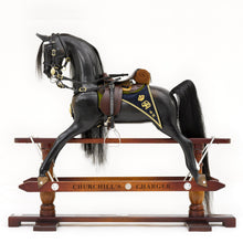 Load image into Gallery viewer, Diamond Jubilee Rocking Horse - Home Decor - pucciManuli