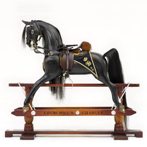 Diamond Jubilee Rocking Horse - Home Decor - pucciManuli