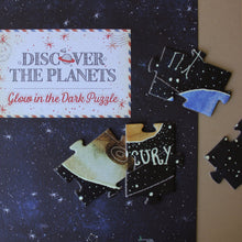 Load image into Gallery viewer, discover-the-planets-glow-in-the-dark-puzzle-pieces