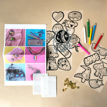 Load image into Gallery viewer, DIY Pin & Flair Kit - Arts & Crafts - pucciManuli