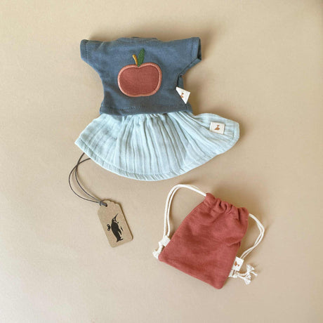 Doll Clothes Set | T-Shirt & Skirt - Dolls & Doll Accessories - pucciManuli