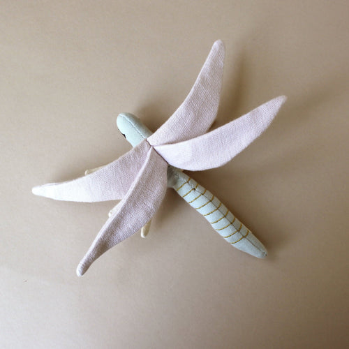 Organic Cotton Dragonfly Rattle - Baby (Rattles) - pucciManuli