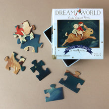 Load image into Gallery viewer, dream-world-bunny-dreamers-mini-puzzle-pieces