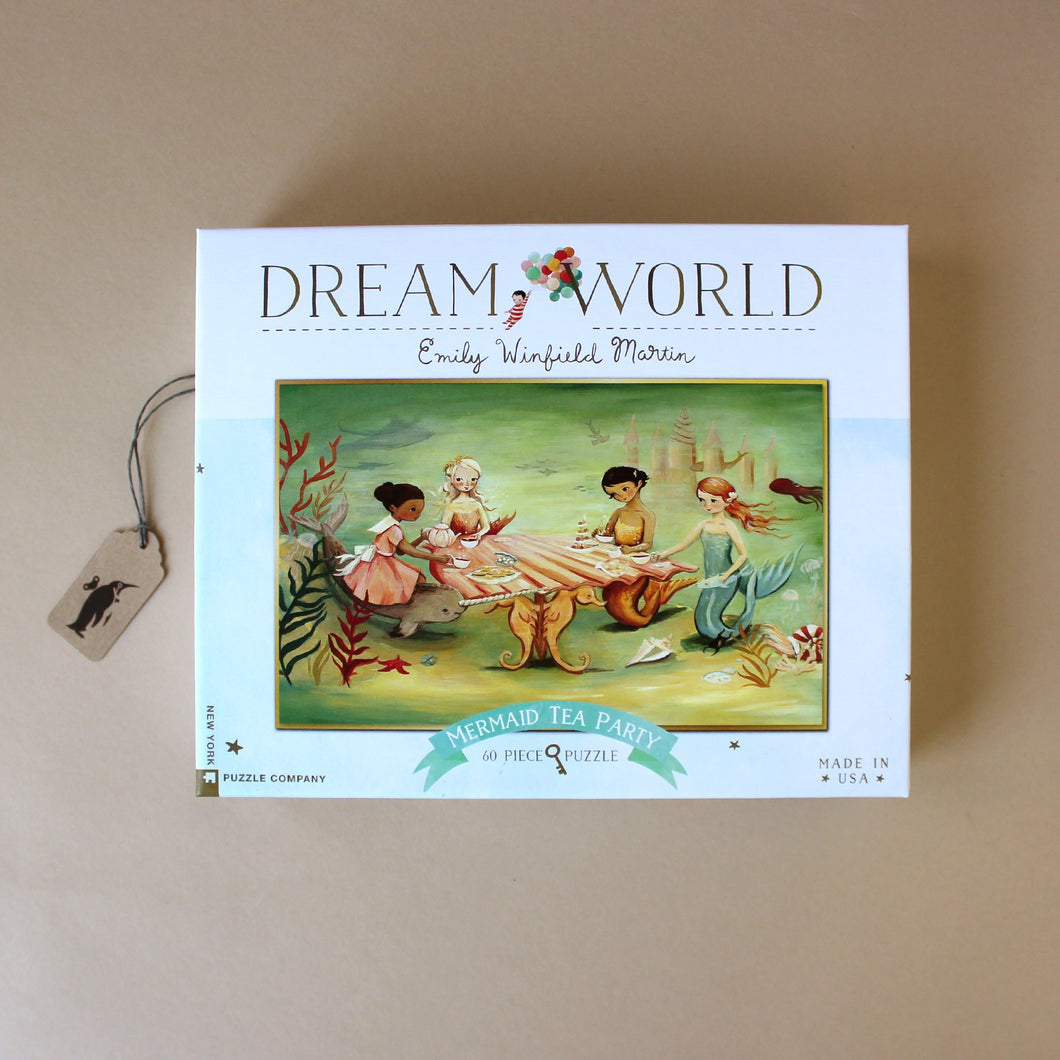 Dream World Mermaid Tea Party 60pc Puzzle - Puzzles - pucciManuli