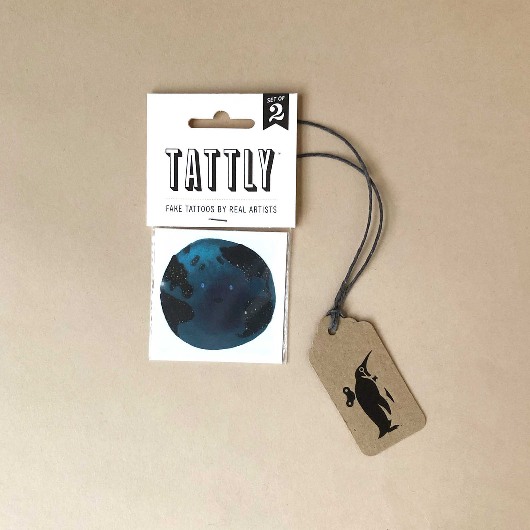 Earth Temporary Tattoo - Accessories - pucciManuli