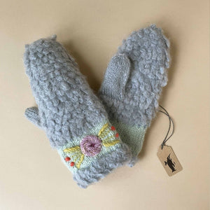 Eskimo Mittens | Blue - Accessories - pucciManuli