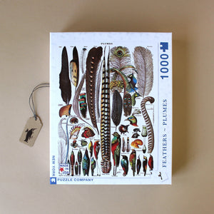 Feathers Plumage 1000pc Puzzle - Puzzles - pucciManuli