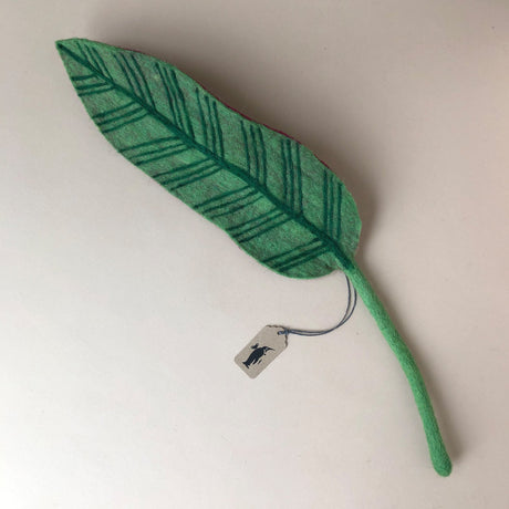 Felted Calathea Leaf - Home Decor - pucciManuli