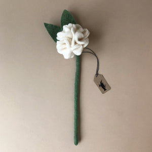 felted-geranium-flower-white