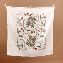 Load image into Gallery viewer, Festive Flavors Kitchen Tea Towel - Christmas - pucciManuli