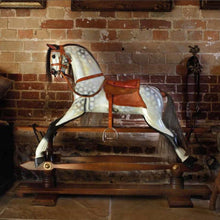 Load image into Gallery viewer, F.H. Ayres Rocking Horse - Stevenson Brothers Rocking Horses - pucciManuli
