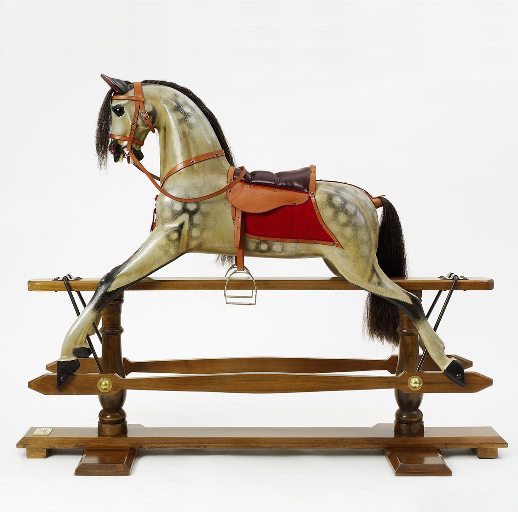 F.H. Ayres Rocking Horse - Stevenson Brothers Rocking Horses - pucciManuli