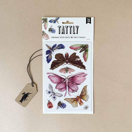 Floraflies Temporary Tattoo Sheet - Accessories - pucciManuli