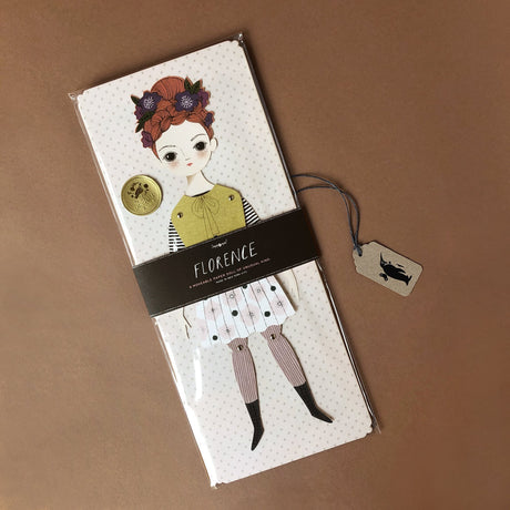 florence-paper-doll-kit-girl-with-red-hair-yellow-top-and-pleated-skirt