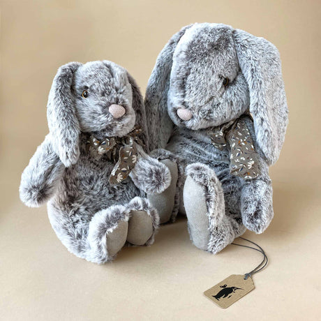 Fluffy Bunny | Grey - Stuffed Animals - pucciManuli