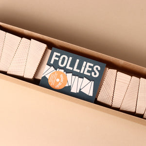 Follies Wooden Blocks Stacking Game - Games - pucciManuli