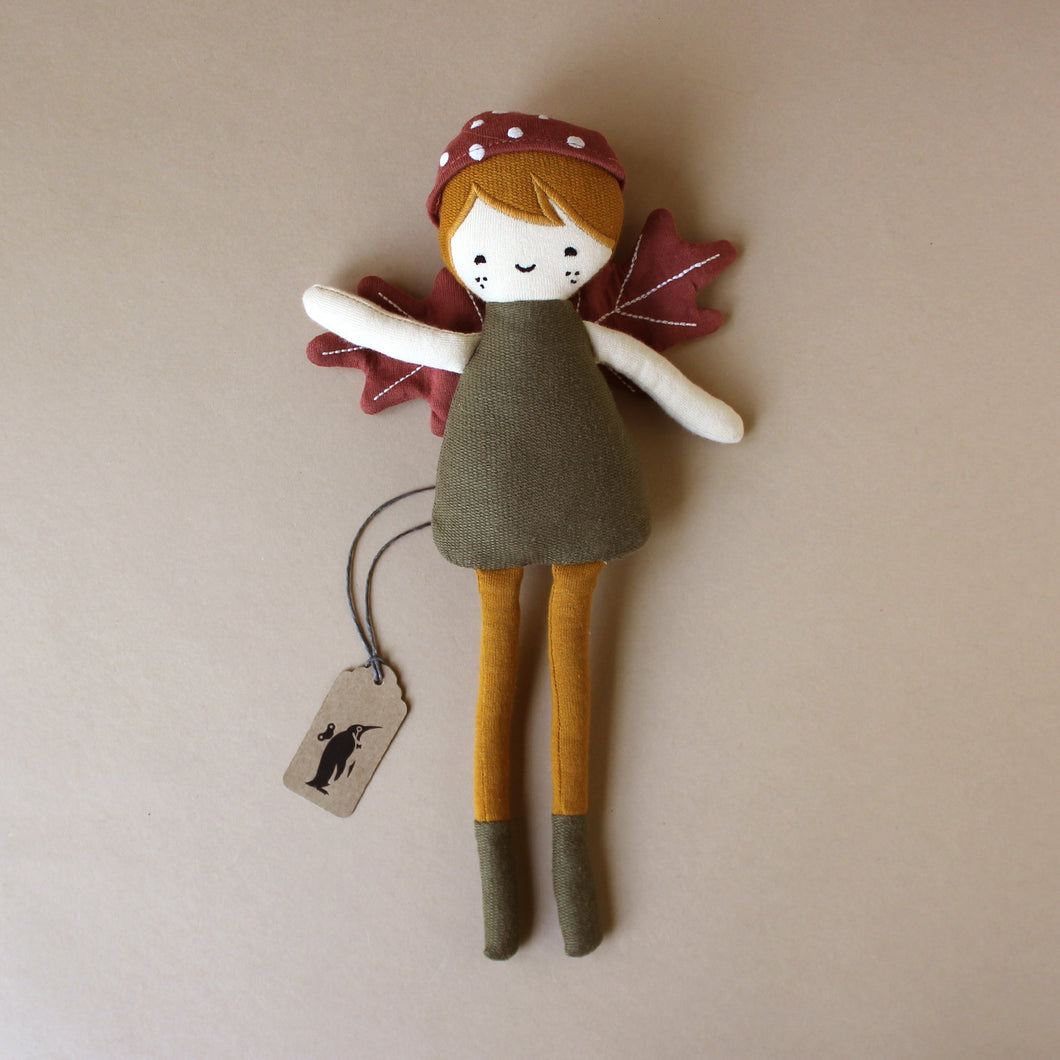 Organic Cotton Forest Elf Doll - Dolls & Doll Accessories - pucciManuli