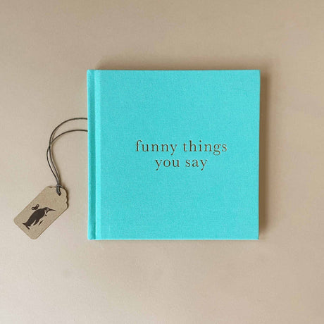 funny-things-you-say-journal-in-mint-hardcover