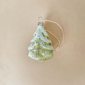 German Glass Ornament | Little Spruce Tree - Christmas - pucciManuli