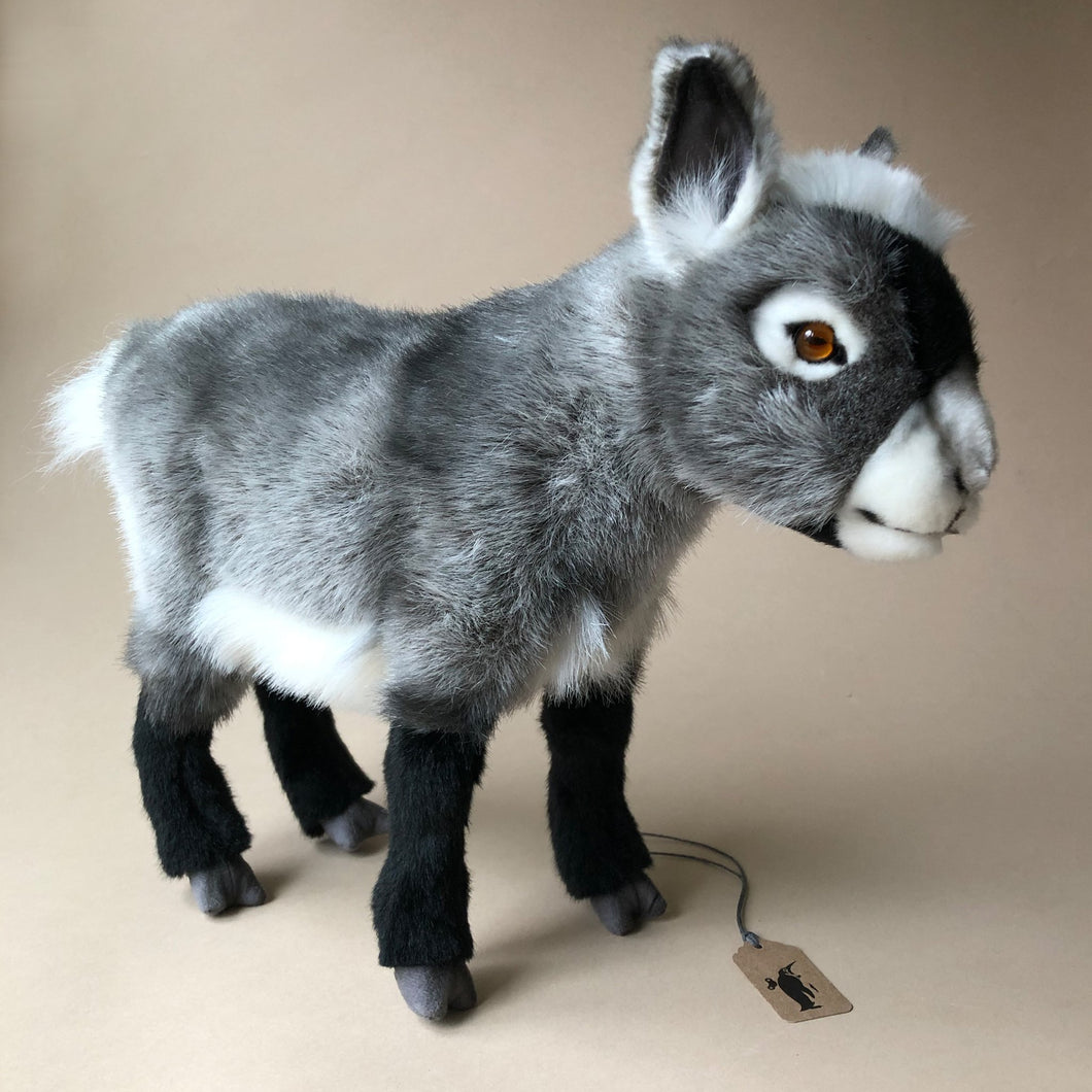 Grey Goat |Dwarf - Stuffed Animals - pucciManuli