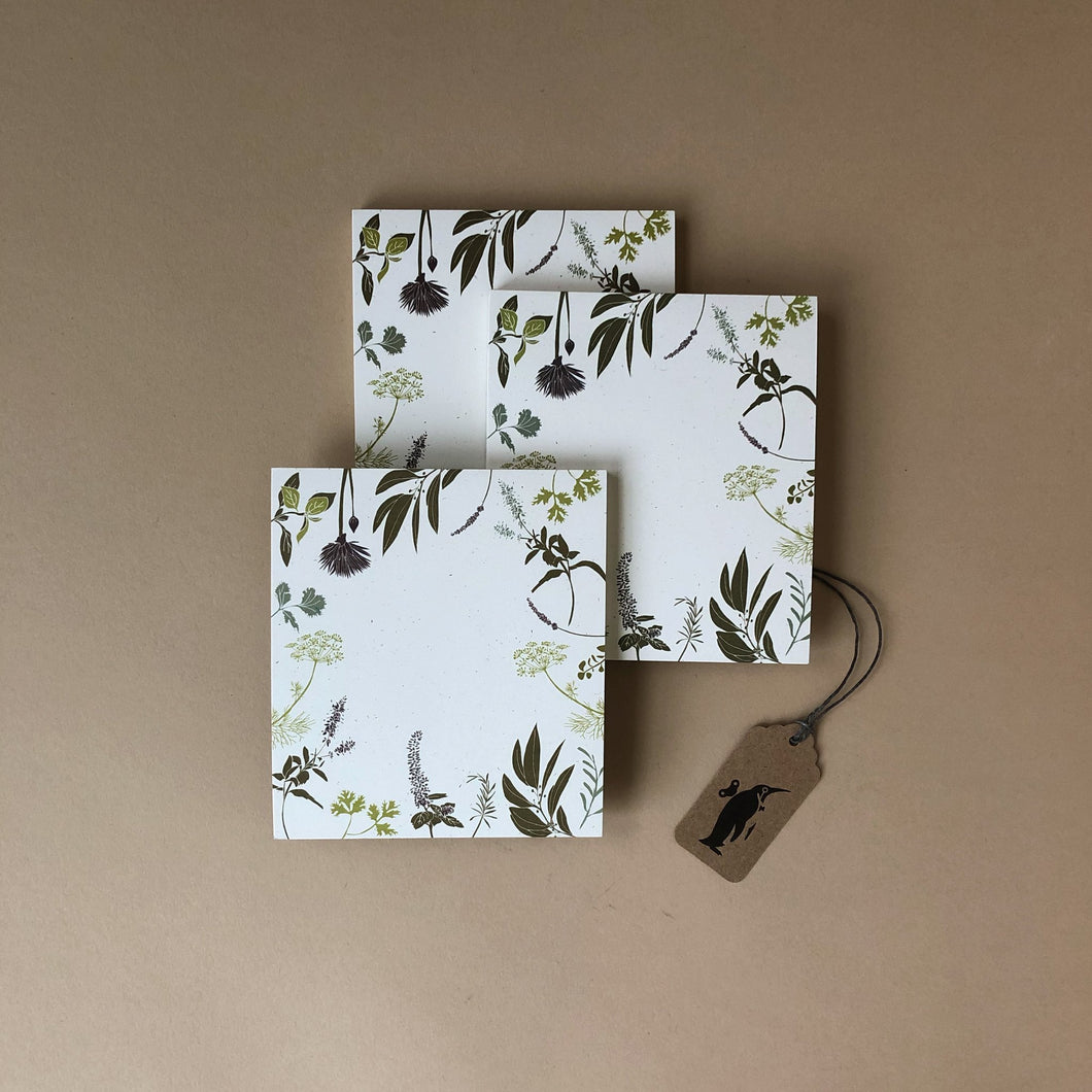 Herb Mini Notes - Stationery - pucciManuli