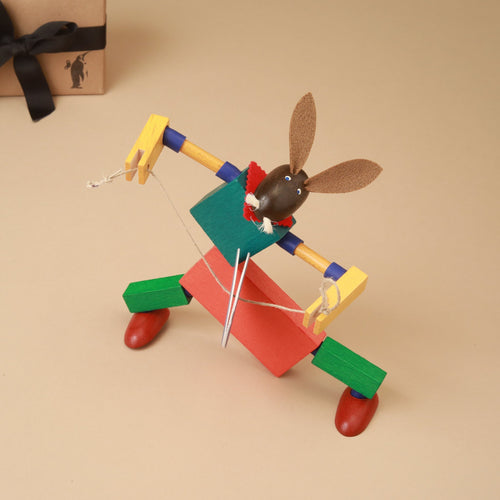 Hopps the Rabbit Steck Figure - Building/Construction - pucciManuli