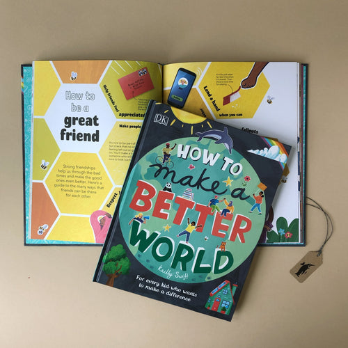 How To Make A Better World Book - Books (Children's) - pucciManuli