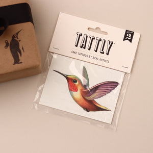 Hummingbird Temporary Tattoo - Curiosities - pucciManuli