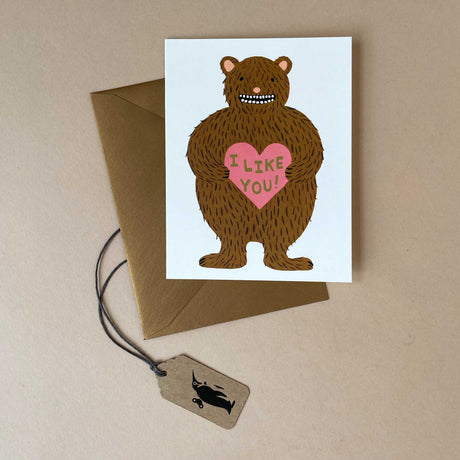 I Like You Greeting Card - Greeting Cards - pucciManuli