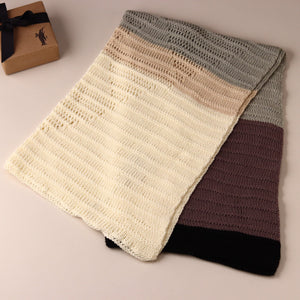 Iceland Diamond Knit Blanket - Blankets/Throws - pucciManuli