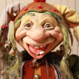 Jester Troll Marionette - Puppets - pucciManuli
