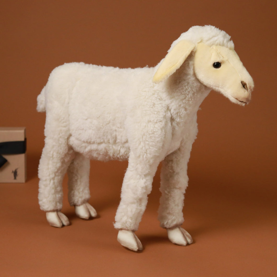 Life-Size Standing Lamb - Stuffed Animals - pucciManuli