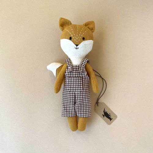 little-fox-in-checker-dungarees