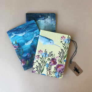 Little Notebook Set | Dreamland Narwhal - Stationery - pucciManuli