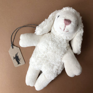 Little Organic Cotton Sheep | White - Stuffed Animals - pucciManuli