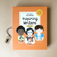 Load image into Gallery viewer, Little People Big Dreams Book Box Set | Inspiring Writers - Books (Children's) - pucciManuli