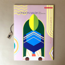 Load image into Gallery viewer, London Mask Wall Decoration | Large - Home Decor - pucciManuli